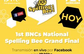 Concurso Nacional de Spelling Bee (Concurso de Deletreo)